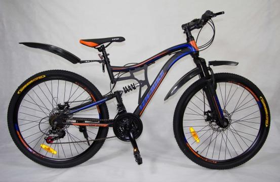 """Двухподвесный велосипед IZH-BIKE Cruise 26"""""""