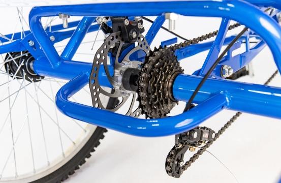 Трехколесный велосипед для взрослых IZH-BIKE Farmer (Фермер) 2021