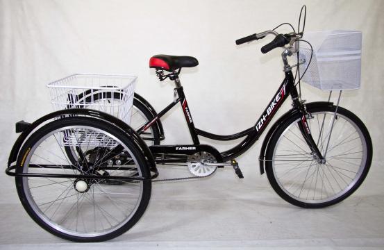 Трехколесный велосипед для взрослых IZH-BIKE Farmer (Фермер) 24''