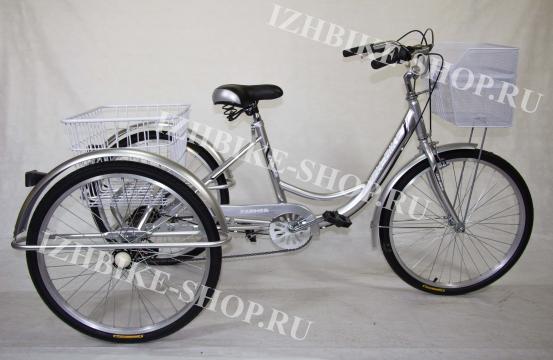Трехколесный велосипед для взрослых IZH-BIKE Farmer (Фермер) 24'' - внедорожный (MAX)
